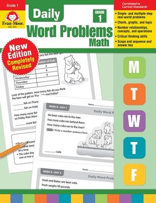 Daily Word Problems, Grade 1 - Evan-Moor