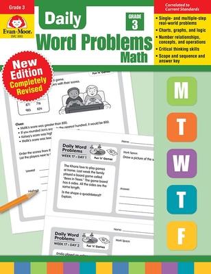 Daily Word Problems, Grade 3 - Evan-Moor