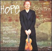 Daniel Hope Plays Schnittke, Takemitsu, Weill - Barnaby Robson (clarinet); Daniel Hope (violin); Ian Hall (double bass); Judith Hall (flute); Judith Hall (piccolo);...