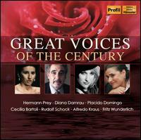 Das Galakonzert der großen Stimmen - Alfredo Kraus (vocals); Anna Tomowa-Sintow (vocals); Anneliese Rothenberger (vocals); Barbara Schlick (soprano);...