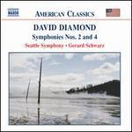 David Diamond: Symphonies Nos. 2 & 4