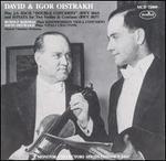 David & Igor Oistrakh Play Bach, Khandoshkin, Vitali