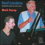 David Lumsdaine: Complete Music for Solo Piano