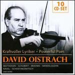 David Oistrach: Powerful Poet