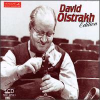 David Oistrakh Edition - Abram Makarov (piano); David Oistrakh (violin); Inna Kollegorskaya (piano); Sviatoslav Richter (piano);...