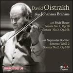 David Oistrakh plays Johannes Brahms