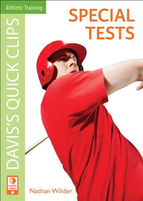 Daviss Quick Clips: Special Tests - Wilder, J. Nathan