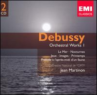 Debussy: Orchestral Works, Vol. 1 - Alain Marion (flute); Fabienne Boury (piano); Michel Sendrez (piano); ORTF Chorus (choir, chorus); ORTF National Orchestra;...