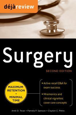 Deja Review Surgery - Tevar, Amit D, MD