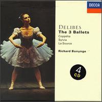 Delibes: The 3 Ballets - Desmond Bradley (violin); Frederick Riddle (viola); Sydney Sax (violin); Thomas Kelly (clarinet); Richard Bonynge (conductor)