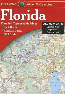 Delorme Florida Atlas & Gazetteer: [Detailed Topographic Maps: Back