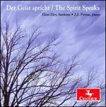 Der Geist spricht (The Spirit Speaks)