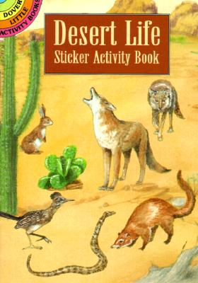 Desert Life Sticker Activity Book - Petruccio, Steven James, and Activity Books