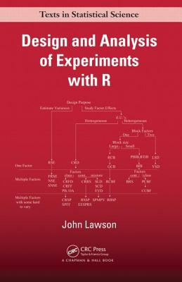 Design and Analysis of Experiments with R - Lawson, John, Ed.D.