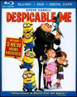 Despicable Me [3 Discs] [Includes Digital Copy] [Blu-ray/DVD]