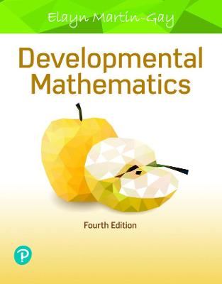 Developmental Mathematics - Martin-Gay, Elayn