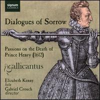 Dialogues of Sorrow - Amy Moore (soprano); Christopher Watson (tenor); Clare Wilkinson (soprano); Elizabeth Kenny (lute); Gabriel Crouch (bass);...