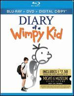Diary of a Wimpy Kid [3 Discs] [Includes Digital Copy] [Blu-ray/DVD]