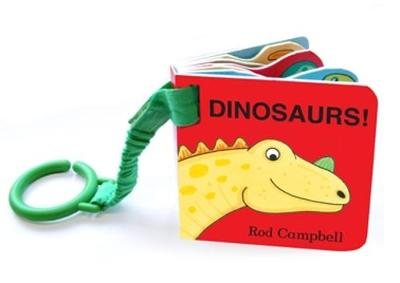 Dinosaur Shaped Buggy Book - Campbell, Rod