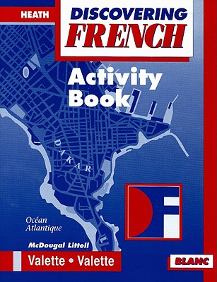 Discovering French Blanc Activity Book Book By Jean Paul
