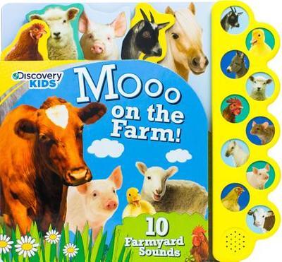 Discovery Moo on the Farm!: 10 Noisy Farmyard Sounds - Parragon Books Ltd