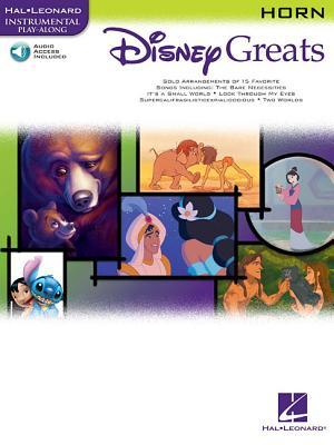 Disney Greats: For Horn Instrumental Play-Along Pack - Hal Leonard Corp (Creator)