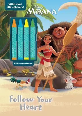 Disney Moana Follow Your Heart - Parragon Books Ltd