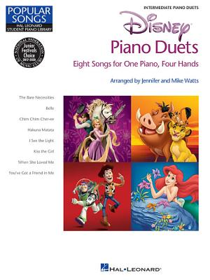 Disney Piano Duets: Eight Songs for One Piano, Four Hands - Watts, Mike