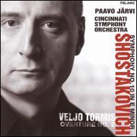 Dmitri Shostakovich: Symphony No. 10; Veljo Tormis: Overture No. 2 - Cincinnati Symphony Orchestra; Paavo Järvi (conductor)