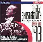 """Dmitri Shostakovich: Symphony No. 13 """"Babiy Yar"""""""