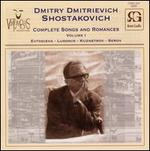 Dmitry Dmitrievich Shostakovich: Complete Songs and Romances, Vol. 1