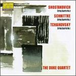 Dmitry Shostakovich: String Quartet No. 8; Alfred Schnittke: String Quartet No. 2; Tchaikovsky: String Quartet No. 1