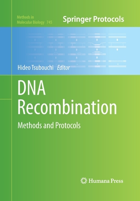 DNA Recombination: Methods and Protocols - Tsubouchi, Hideo (Editor)