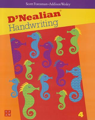 Dnealian Handwriting 1999 Student Edition (Consumable) Grade 4 -