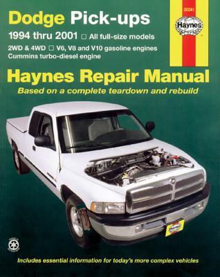 Dodge Full-Size Pickups, 1994-2001 - Haynes, John