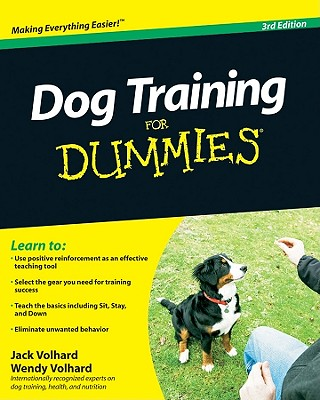 Dog Training for Dummies - Volhard, Jack, and Volhard, Wendy