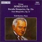 Dohnanyi: Rhapsodies Op11; Ruralia Hungarica Op32