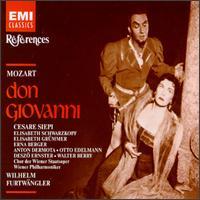 Don Giovanni - Anton Dermota (tenor); Cesare Siepi (vocals); Deszo Ernster (vocals); Elisabeth Grümmer (vocals);...