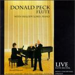 Donald Peck, Flute...