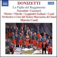 Donizetti: La Figlia del Reggimento - Alessandro Pento (vocals); Arturo Cauli (bass); Eugène Gallien-Laloue (bass); Giorgio Casciari (tenor);...