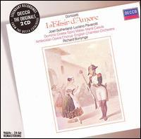 Donizetti: L'Elisir d'Amore - Dominic Cossa (vocals); Joan Sutherland (vocals); Luciano Pavarotti (vocals); Maria Casula (vocals); Spiro Malas (vocals); Ambrosian Opera Chorus (choir, chorus); English Chamber Orchestra; Richard Bonynge (conductor)