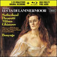 Donizetti: Lucia di Lammermoor [2CD/Blu-Ray Audio] -