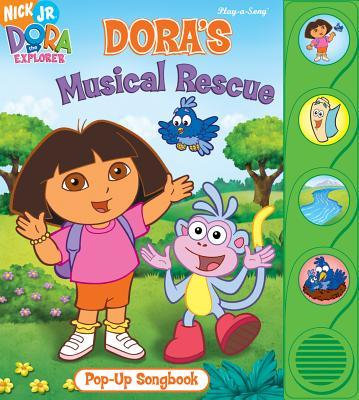 Dora's Musical Rescue Little Pop-up Songbook - Publications International
