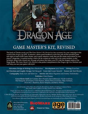 Dragon Age Game Master's Kit, Revised Edition - Pramas, Chris, and Brookshaw, Dave