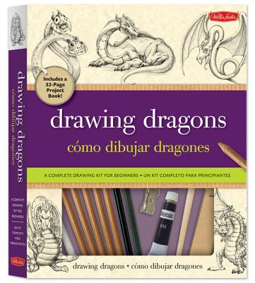 Drawing Dragons Kit: A Complete Drawing Kit for Beginners - Dobrzycki, Michael
