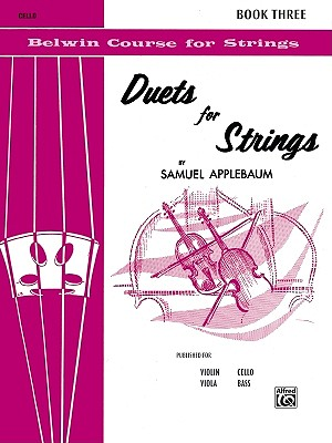 Duets for Strings, Bk 3: Cello - Applebaum, Samuel
