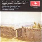 Dussek: Concerto for 2 Pianos; Schumann: Andante & Variations