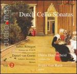 Dutch Cello Sonatas, Vol. 2