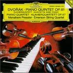 Dvor�k: Piano Quintet, Op. 81; Piano Quartet, Op. 87