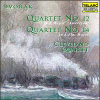 Dvorák: Quartets Nos. 12 & 14 - James Dunham (viola); Paul Katz (cello); Peter Salaff (violin); William Preucil (violin); Cleveland Quartet